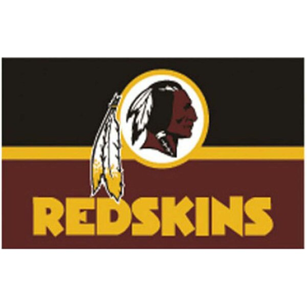 Washington Redskins Polyester 3 x 5 ft. Flag by NeoPlex