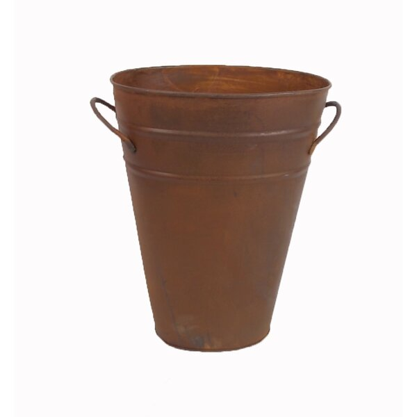 Tin Pot Planter by Craft Outlet