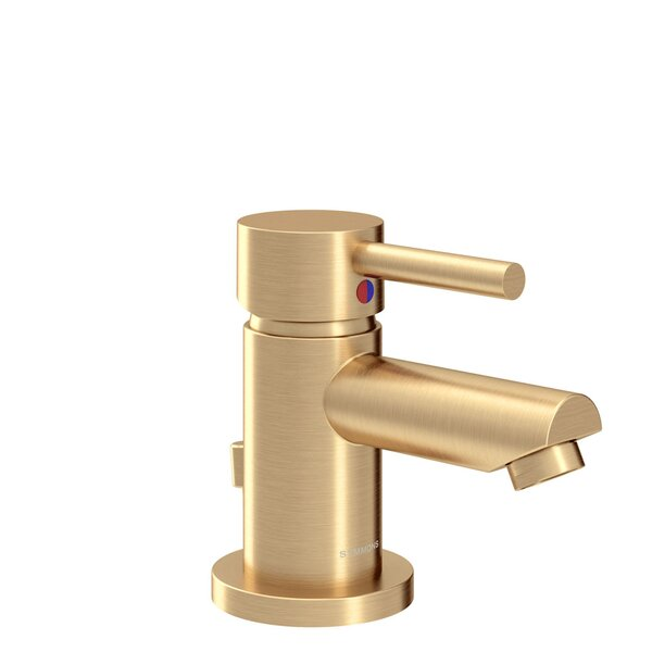Dia Single Hole Bathroom Faucet with Drain Assembly by Symmons