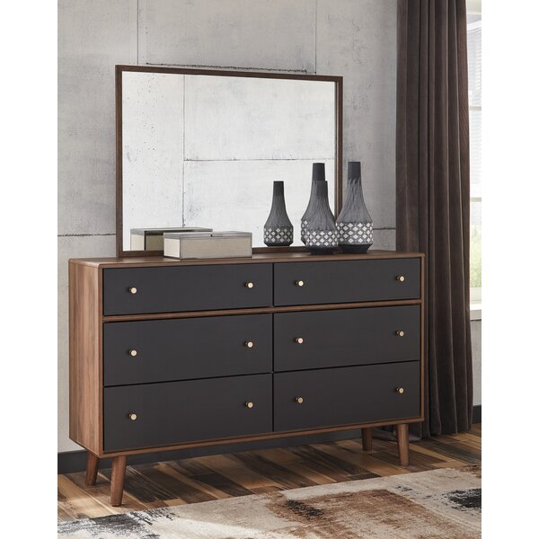 Scott Rectangular Dresser Mirror by George Oliver
