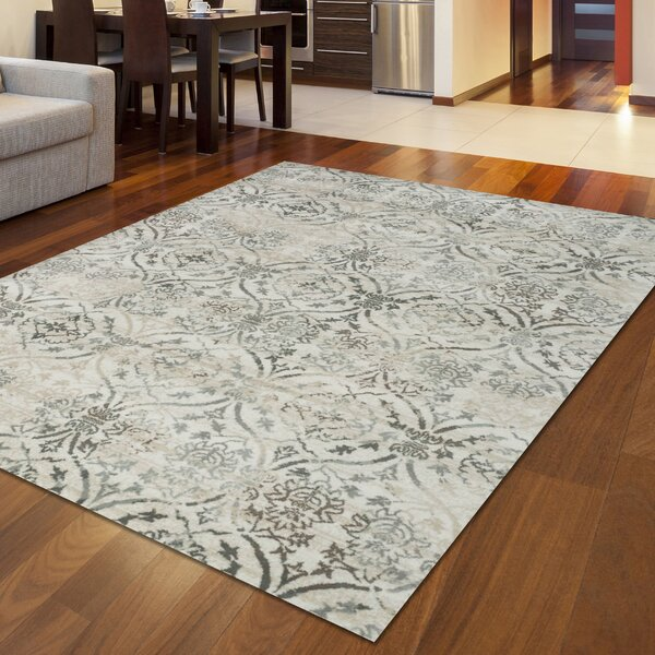 Bartley Bone Area Rug by Bungalow Rose