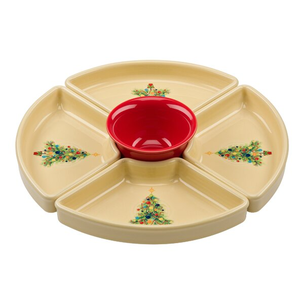 Christmas Tree Condiment Server by Fiesta