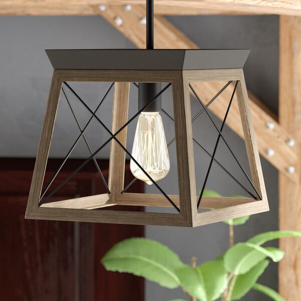 Delon 1-Light Lantern Pendant by Laurel Foundry Mo