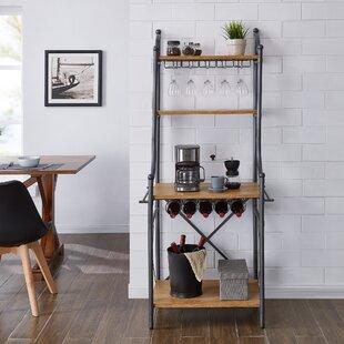 Shop For Rummel Wine Storage Iron Baker's Rack Best Price