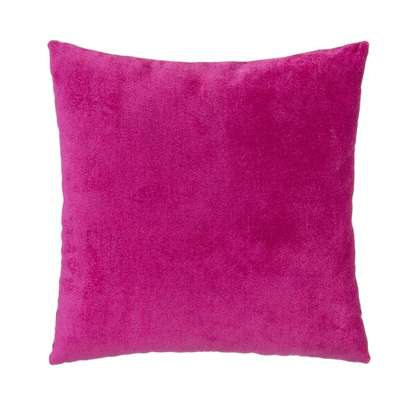 Grouchy Goose Magenta Velvet Square Pillow Amp Reviews Wayfair
