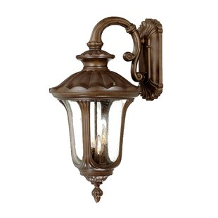 Price comparison Princeton 3-Light Outdoor Wall Lantern By Charlton Home