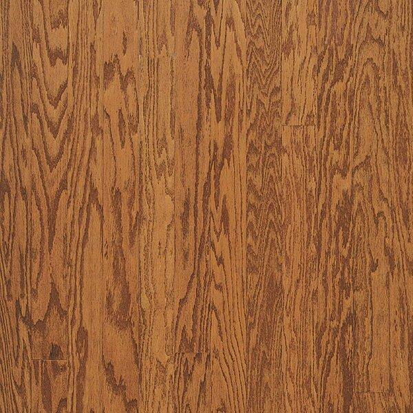 Turlington 3 Engineered Oak Hardwood Flooring in Low Glossy Gunstock by Bruce Flooring