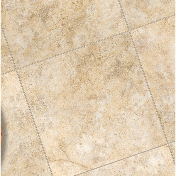Toledo 7 x 7 Ceramic Bullnose Tile Trim in Beige by Emser Tile