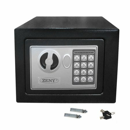 Digital Electronic Safe Box with Electronic Lock by Zeny
