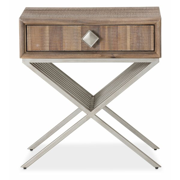 Gehlert End Table With Storage By Union Rustic