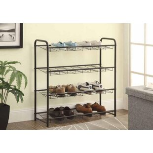 Check Prices 12 Pair Shoe Rack By Rebrilliant