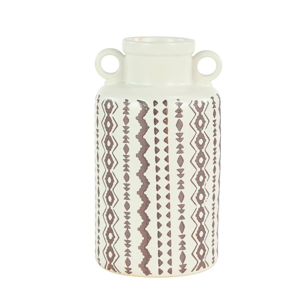 Dickinson Ceramic Table Vase (Set of 2) by Union Rustic