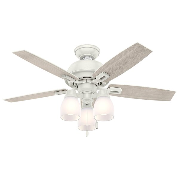 44 Donegan 5-Blade Ceiling Fan by Hunter Fan