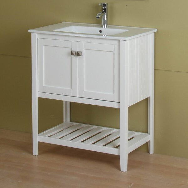 Dutcher 30 Single Bathroom Vanity Set by Rosecliff Heights