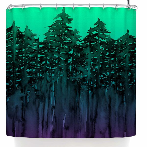 Ebi Emporium Forest Through the Trees 9 Shower Curtain by East Urban Home