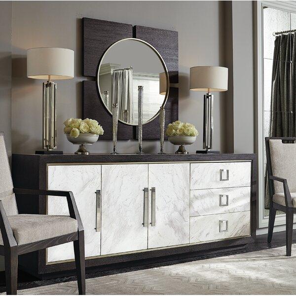 Decorage 8 Drawer Double Dresser with Mirror by Bernhardt