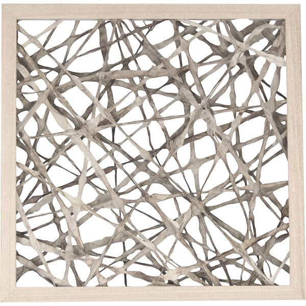 Abstract Paper Framed Wall Art by Zentique