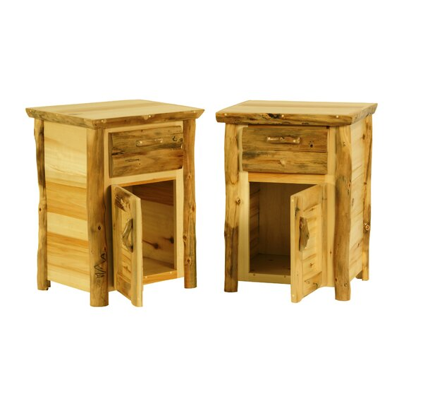 Leboeuf 1 Drawer Nightstand by Millwood Pines