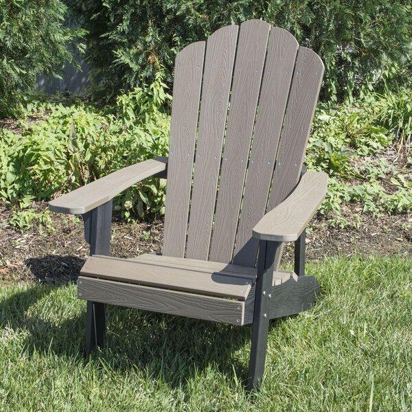 Kean Plastic Adirondack Chair by Highland Dunes Highland Dunes