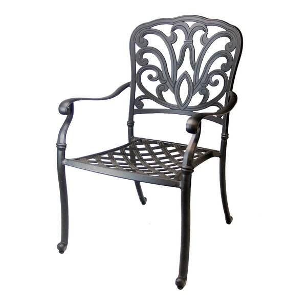 Bosch Stacking Patio Dining Chair (Set of 4) by Darby Home Co