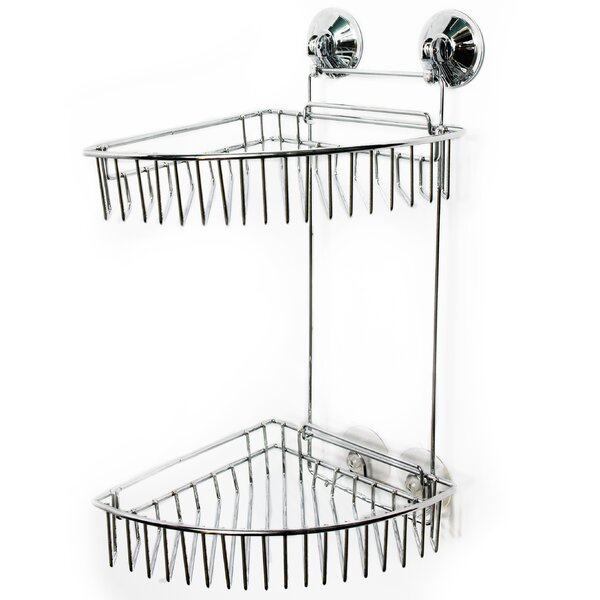 Euro Ware 2 Tier Suction Shower Caddy by Sweet Home Collection