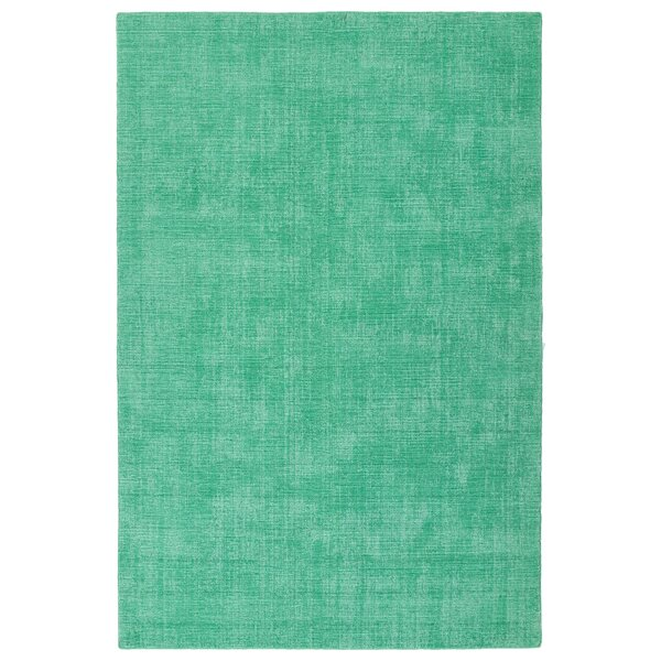 Borica Hand-Loomed Mint Indoor/Outdoor Area Rug by Ebern Designs