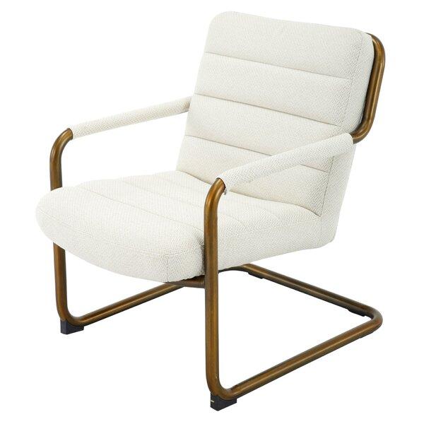 Palmea Fabric Armchair by Everly Quinn Everly Quinn
