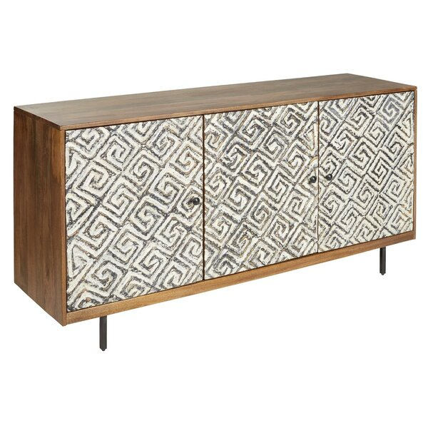 Noille 3 Door Accent Cabinet by World Menagerie World Menagerie