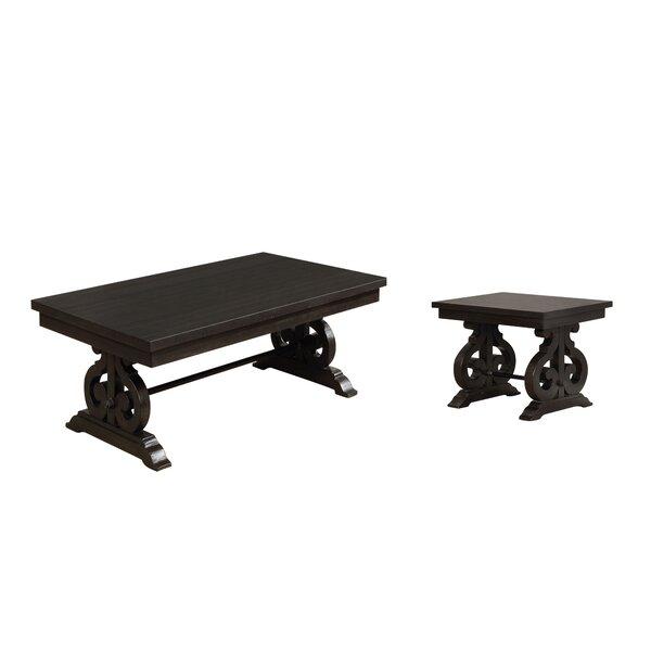 Albro 2 Piece Coffee Table Set by One Allium Way One Allium Way®