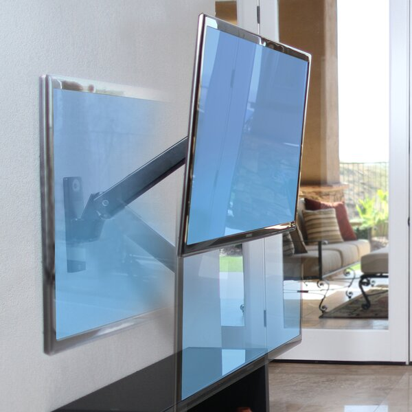 Interactive Arm Wall Mount for 30 - 60 Flat Panel Screens by OmniMount