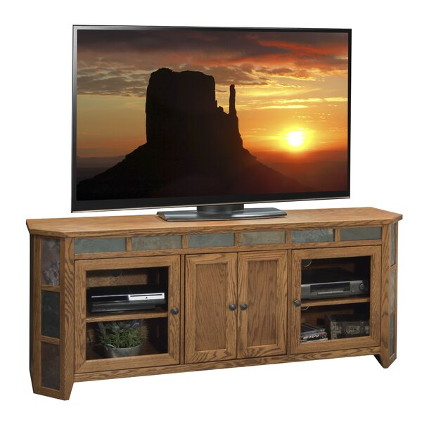 Oak Creek Solid Wood TV Stand For TVs Up To 78