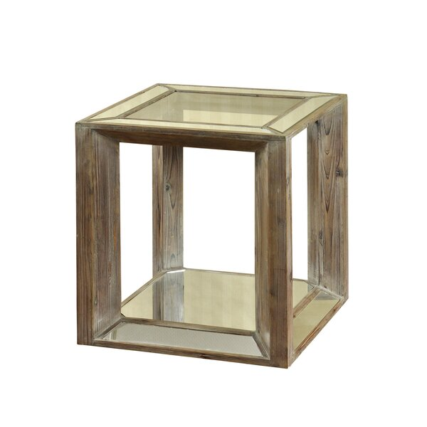 Griswold End Table by Bungalow Rose Bungalow Rose