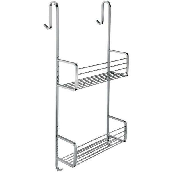 Koehler Shower Hanging Caddy Double Shelf Organizer by Symple Stuff