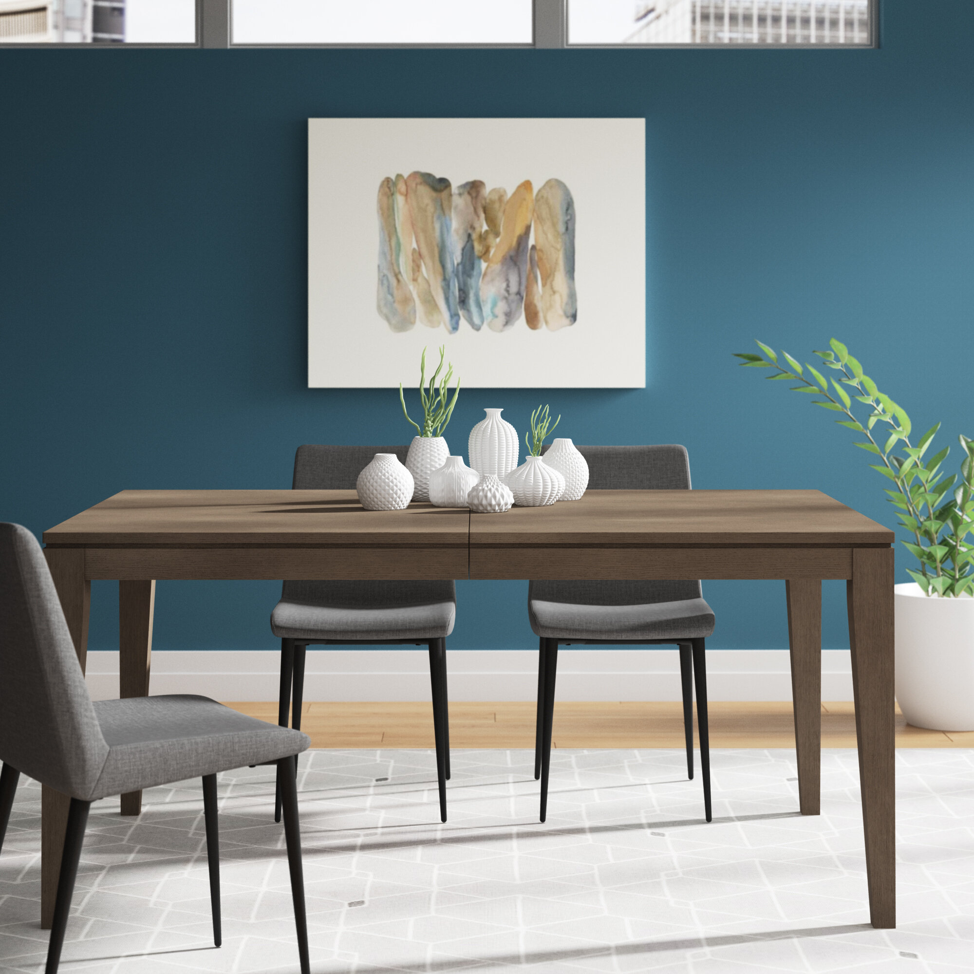 Peachy Highline By Rachael Ray Home Extendable Dining Table Bralicious Painted Fabric Chair Ideas Braliciousco