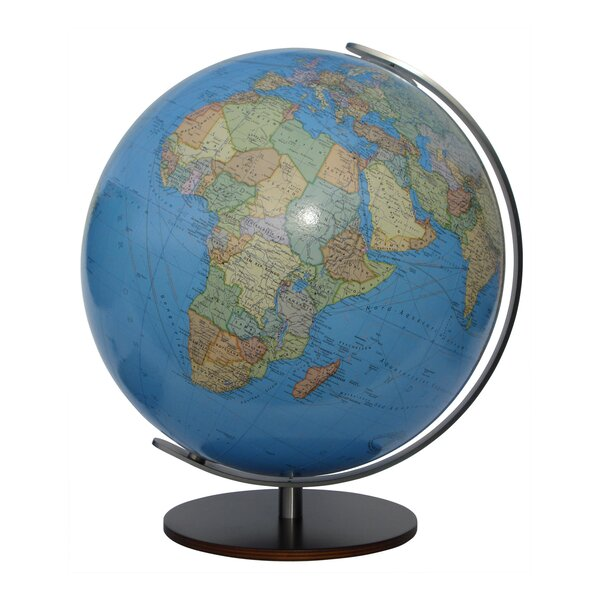 Kempten Illuminated Desktop Globe by Columbus Globe
