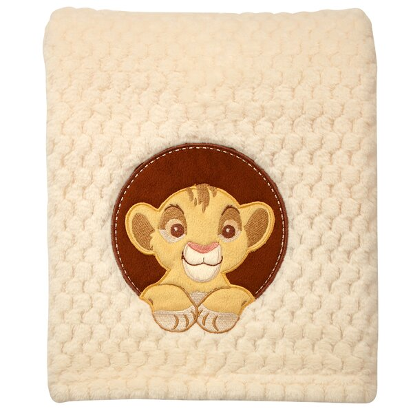 Lion King Popcorn Coral Fleece Blanket by Disney