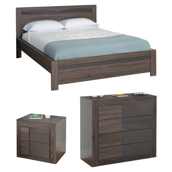 Joshua Queen Platform Configurable Bedroom Set by Zipcode Design
