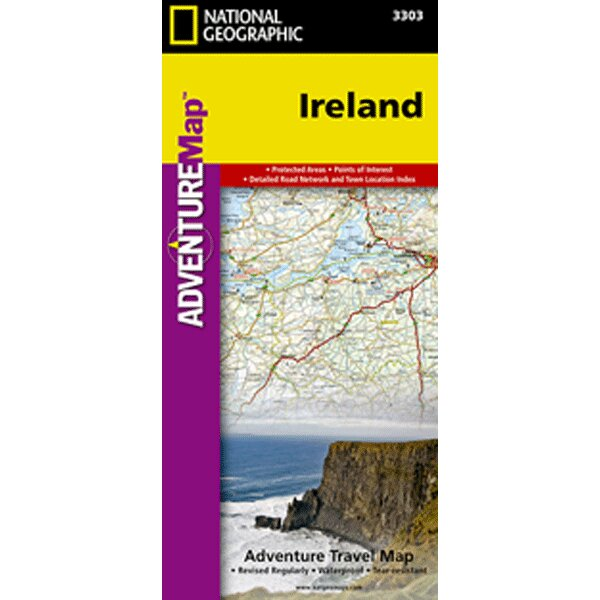 Ireland Adventure Map by Universal Map