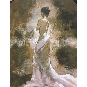 'Lady Pose' Painting on Wrapped Canvas by Bloomsbury Market