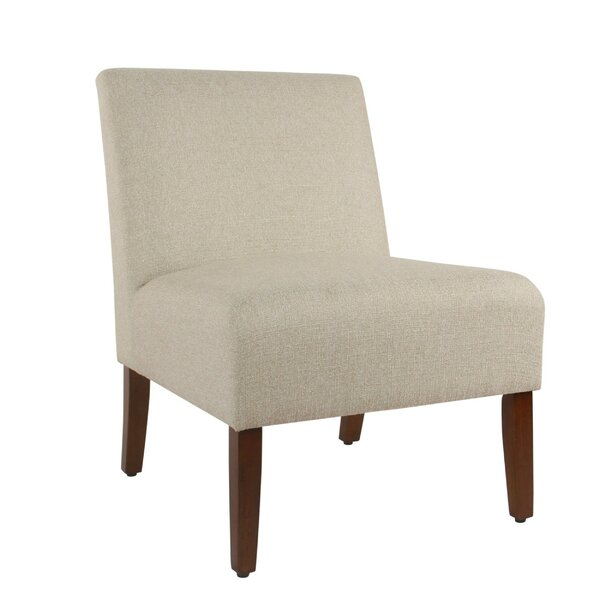 Cheyanne Fabric Upholstered Wooden Side Chair by Winston Porter