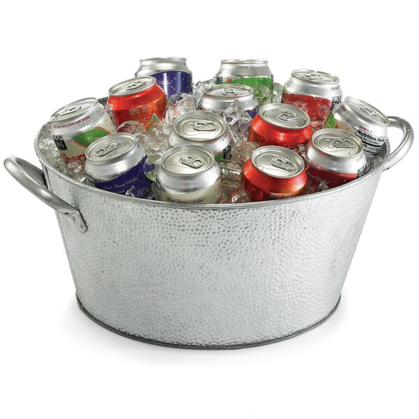 Galvanized 556 Oz. Beverage Tub by Tablecraft