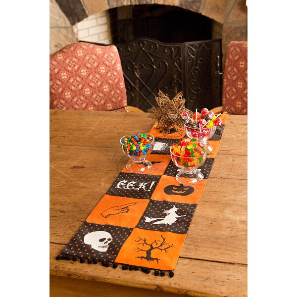 Halloween Patchwork Table Runner by Xia Home Fashions