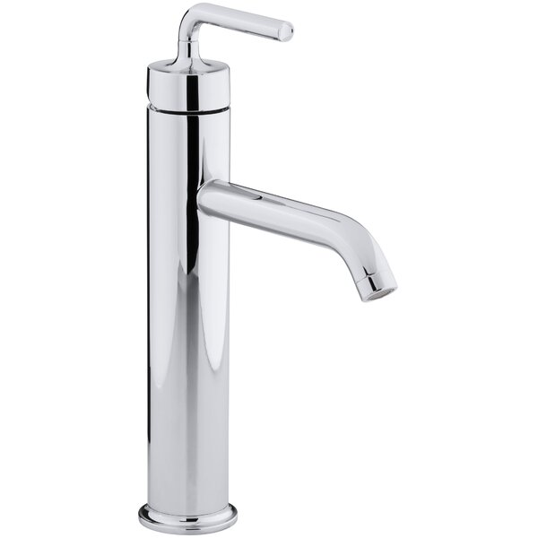Purist Single hole Bathroom Faucet with Drain Assembly by Kohler