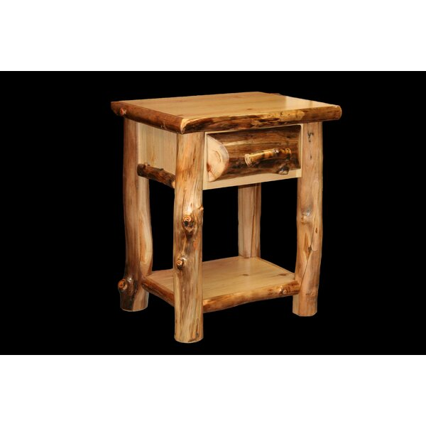 Amias 1 Drawer Nightstand by Millwood Pines