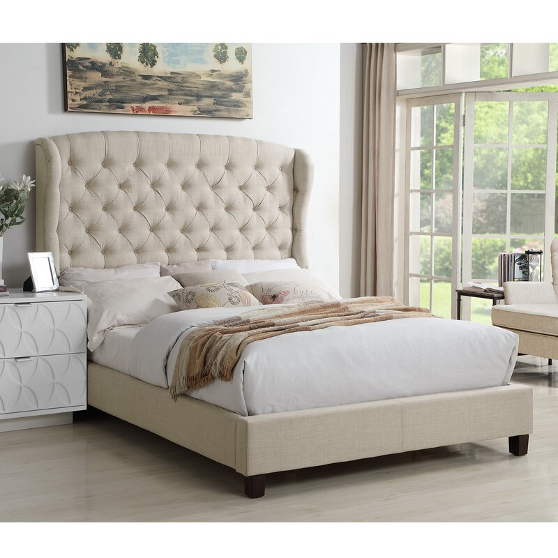 Maryport Upholstered Panel Bed