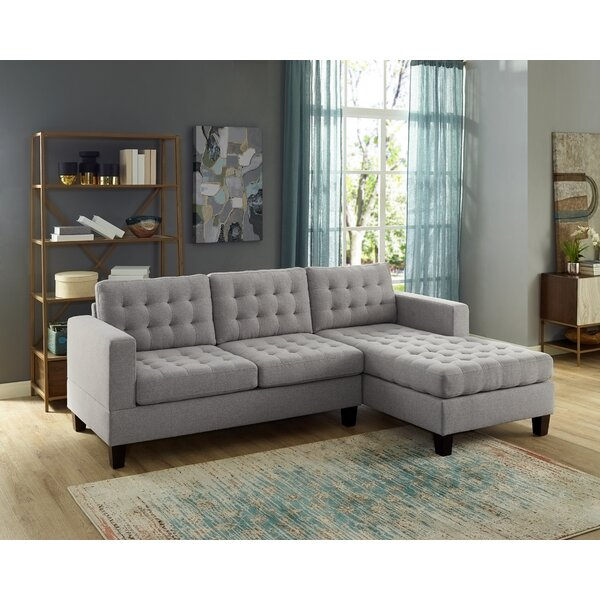 Charleigh Reversible Sectional by Winston Porter