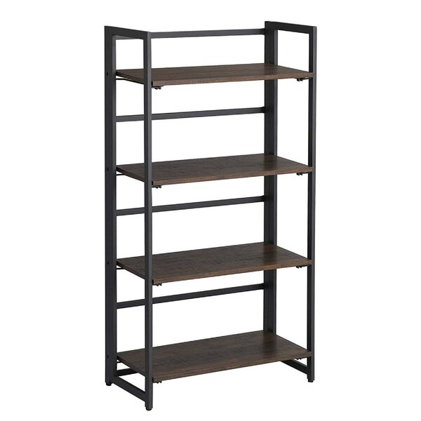 Opperman Four Tiered Folding Ladder Bookcase by Williston Forge
