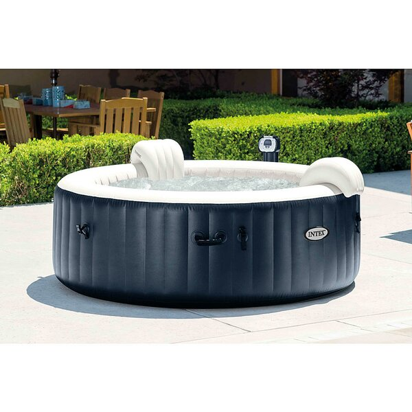 PureSpa 4-Person 140-Jet Inflatable Spa by Intex