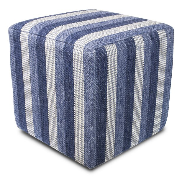 Coopers Mills Cube Ottoman by Breakwater Bay