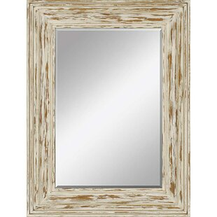 Mistana Rectangle Distressed Wall Mirror